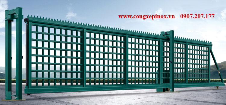Cửa cổng lùa chạy điện THP-25