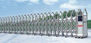 Cổng xếp inox 304 THP-090