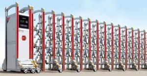 Cổng xếp inox THP-601