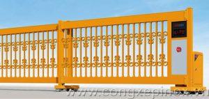 Cửa cổng xếp lùa ngang THP-85