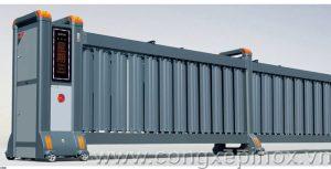Cửa cổng xếp trượt tự động THP-65