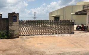 Công trình lắp đặt Công trình cổng xếp inox huyện Bình Phước