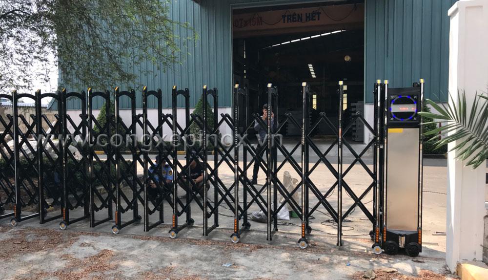 Chất lượng vượt trội của Cửa cổng xếp hợp kim nhôm khu công nghiệp Tân Tạo