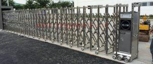Một bộ cổng xếp tự động chất lượng cao