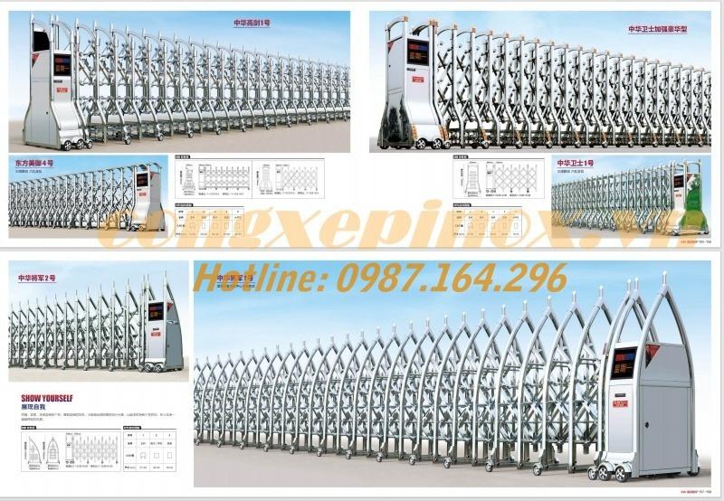 Cửa cổng xếp inox chạy điện có ưu điểm sử dụng dễ dàng