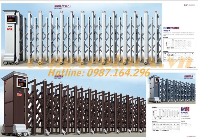 Tuỳ vào mẫu mã và kích thước, cổng xếp điện cũng sẽ có mức giá khác nhau