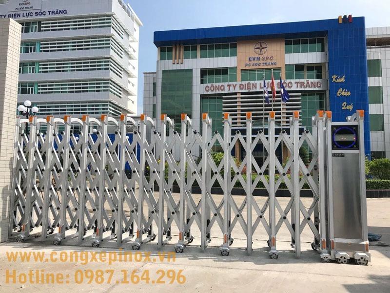 An Thịnh Phát là đơn vị cung cấp, lắp đặt các loại cổng xếp điện inox uy tín chất lượng cao